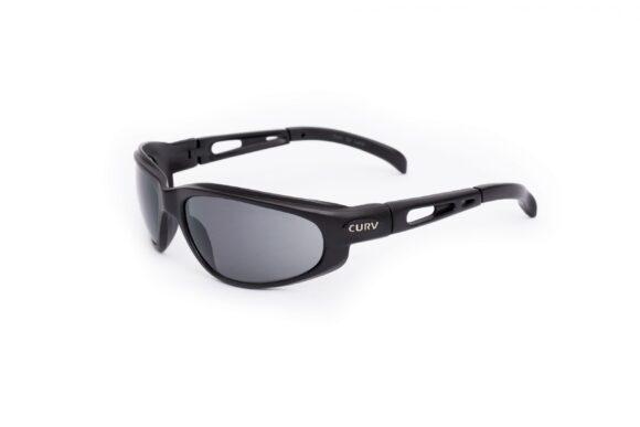 01-01G Curv Glossy Black Sunglasses