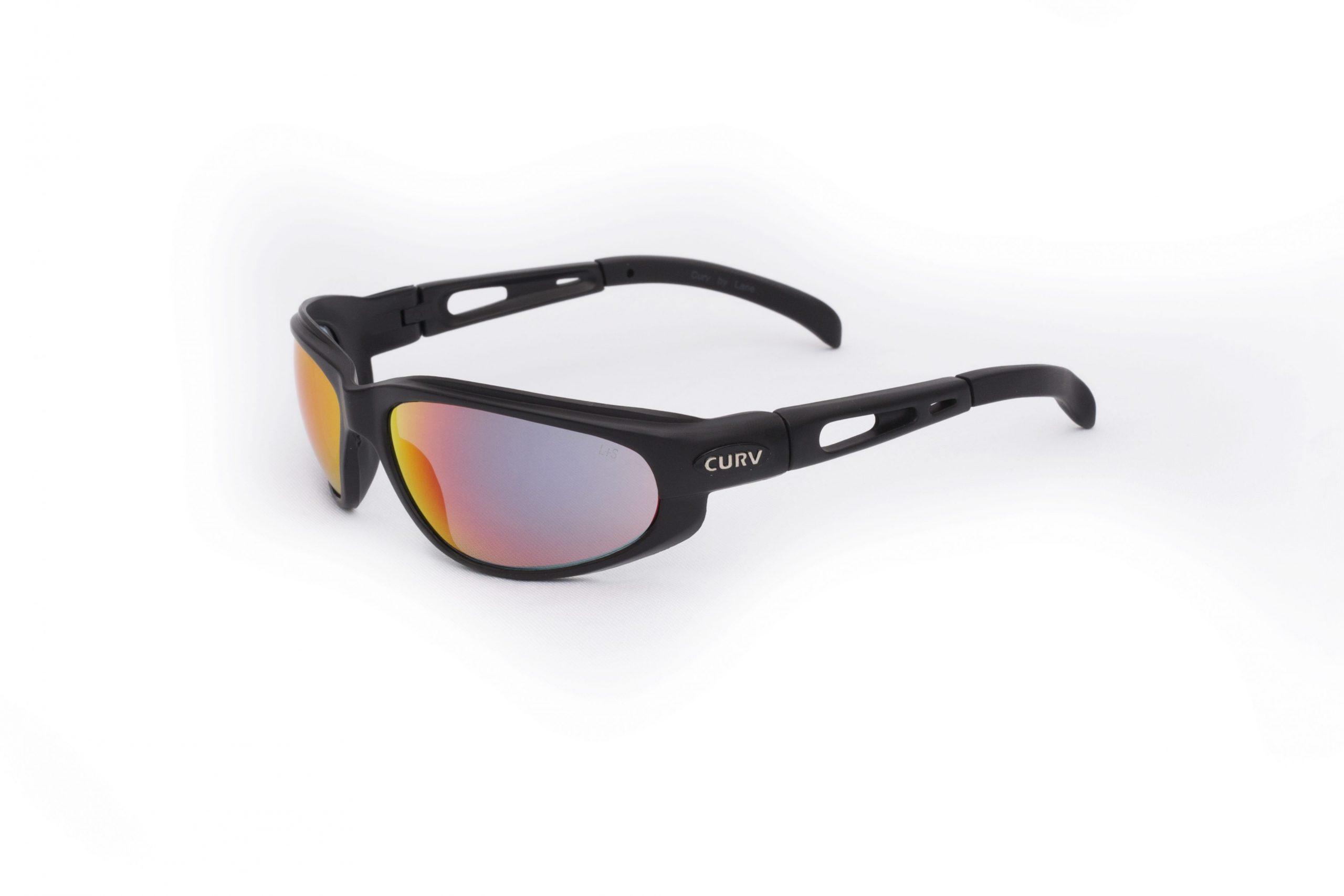01-13 Curv Fire Red Sunglasses