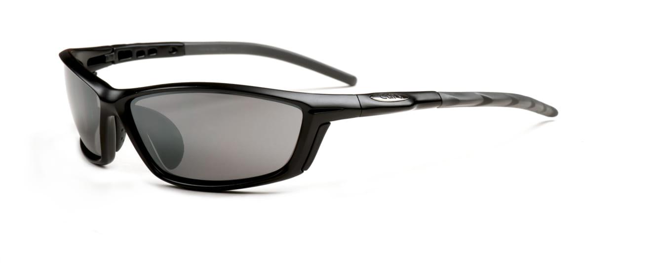 01-56 Curv Bullet Black Sunglasses