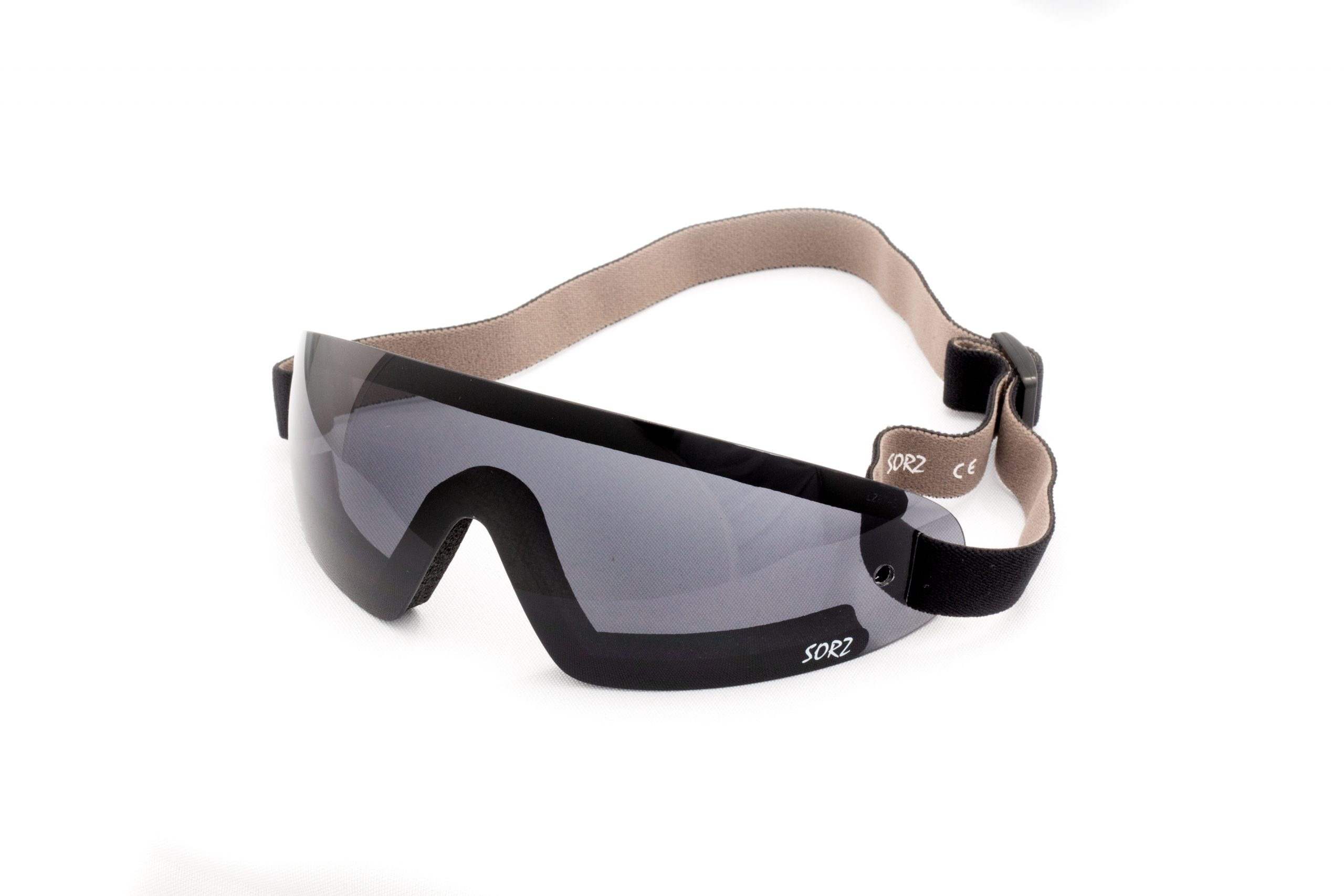 05-02 - SORZ Smoke Skydiving Goggle with Smoke Anti-Fog Lenses in Rimless Goggles with Foam Windstops