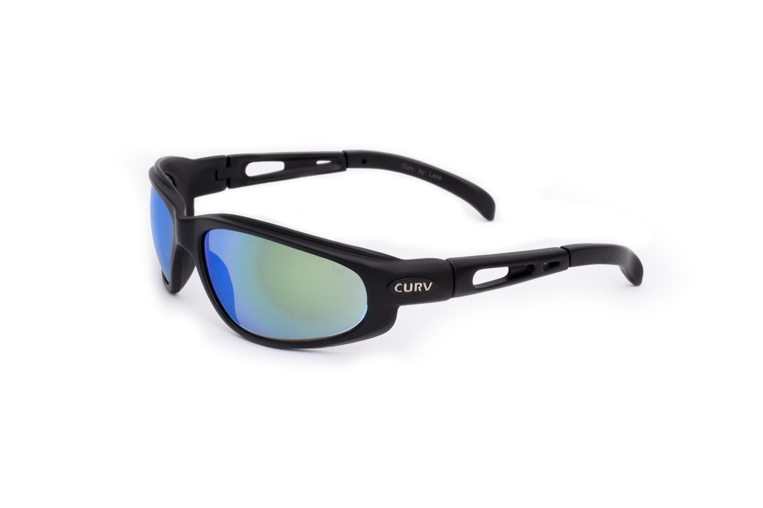 01-12 Curv Blue Mirror Sunglasses