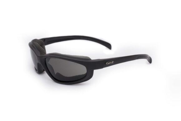 02-01 CurvZ Glossy Foam-lined Sunglasses