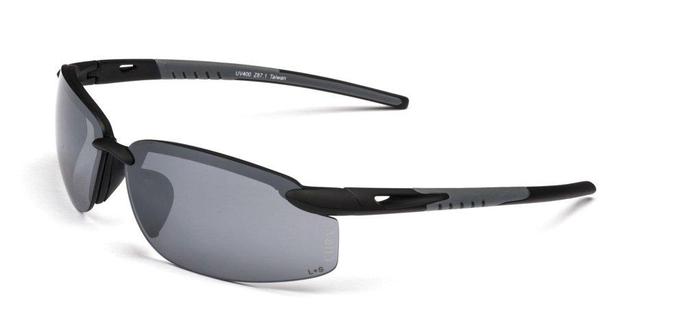 01-60 Curv Rimless Smoke Sunglasses