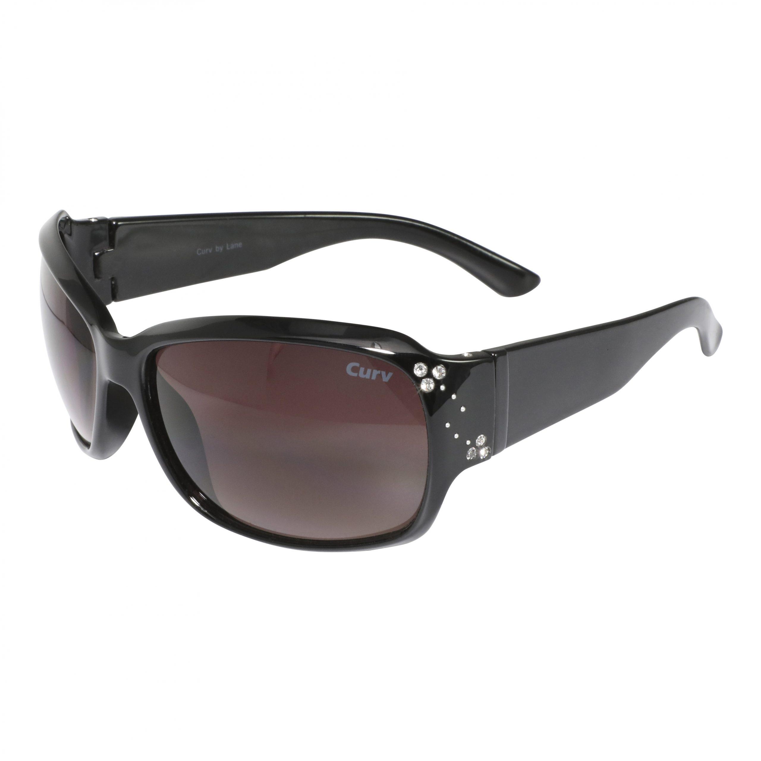 01-18 Curv Rhinestone and Stud Sunglasses