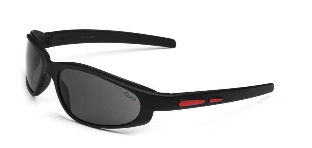 01-63G CurvEX Red Glossy Sunglasses